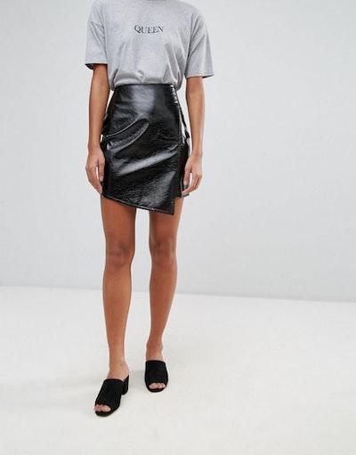 Vinyl Wrap Skirt