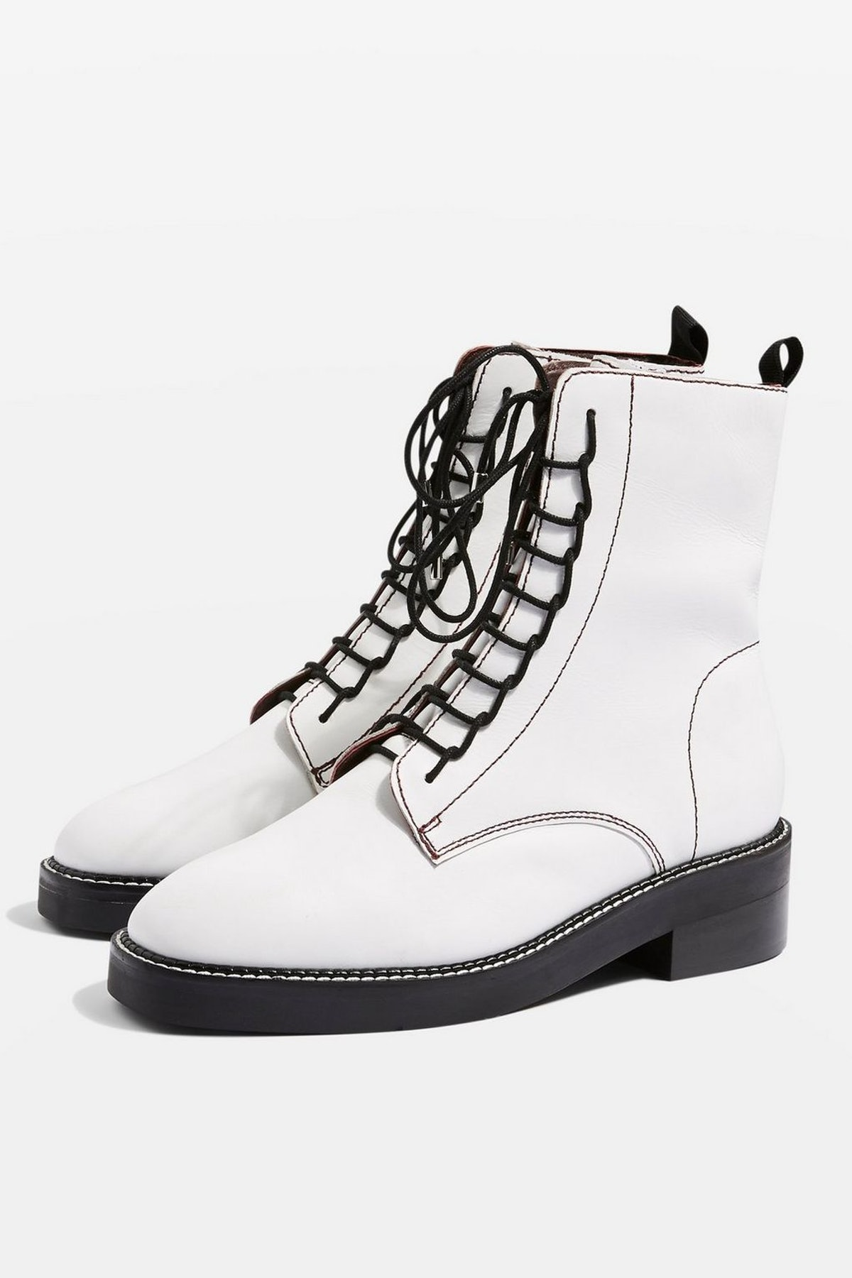 Artist Lace Up Boots