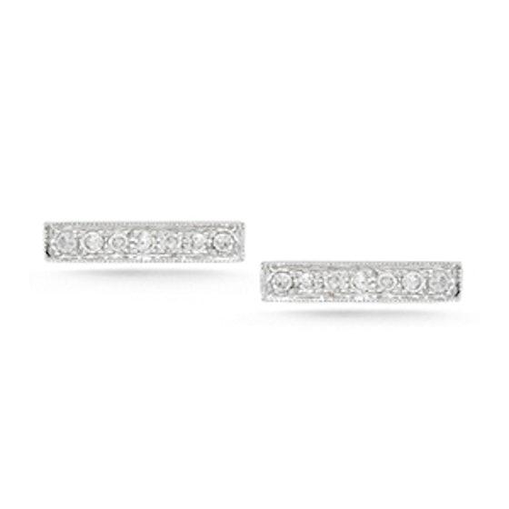 Sylvie Rose Diamond Bar Earrings