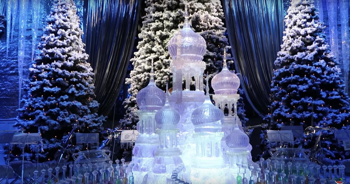 Harry Potter Studio Tour's Hogwarts In The Snow Christmas ...