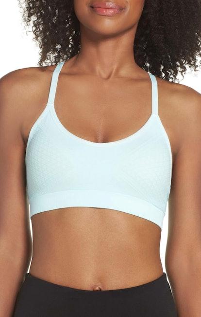 Climawear Jade Mesh Inset Racerback Sports Bra