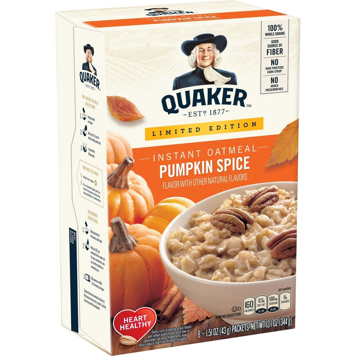 Quaker Pumpkin Spice Oatmeal