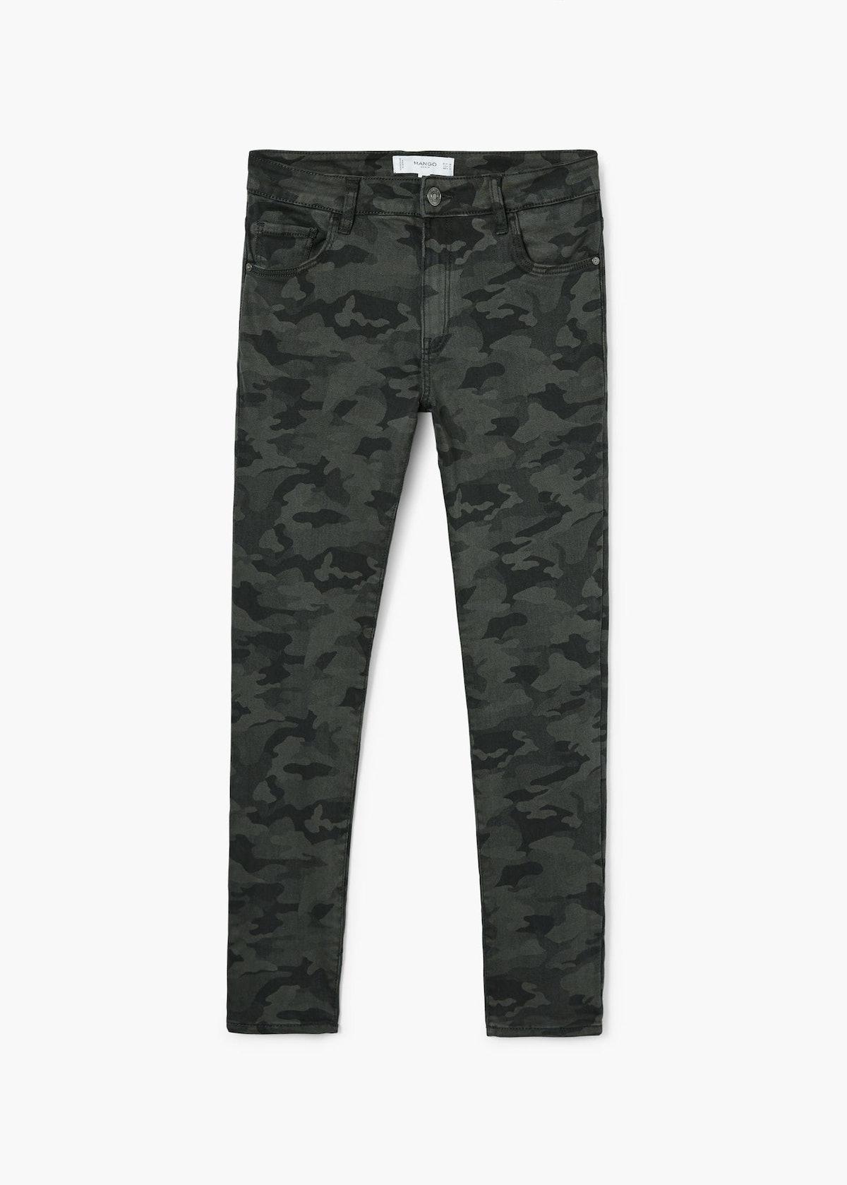 Militar Print Jeans