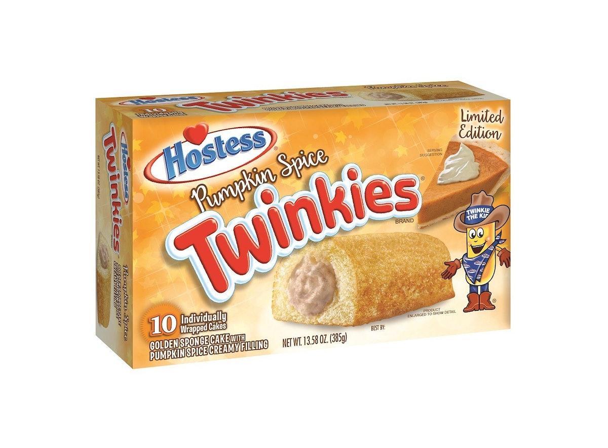 Hostess Pumpkin Spice Twinkies