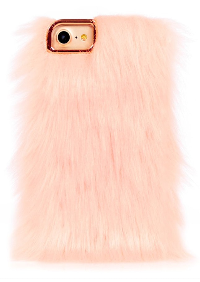 You know how you have like, going out shoes, going out coats, going out pants etc? Well, why can't you have a going out phone case? Remarkably, this little one is on sale so super friendly on the old wallet. Also a good cuddle substitute if you can't afford a pet.