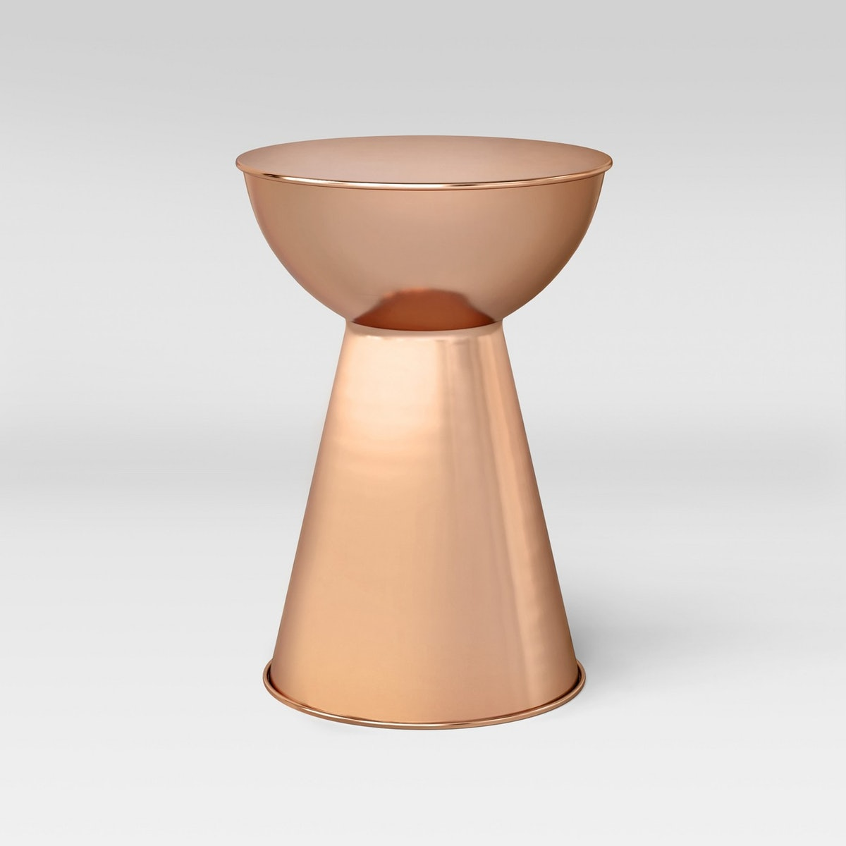 Hourglass Accent Table