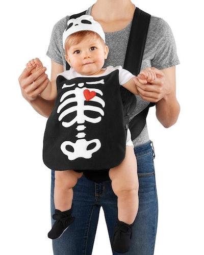 Little Skeleton Halloween Carrier Costume