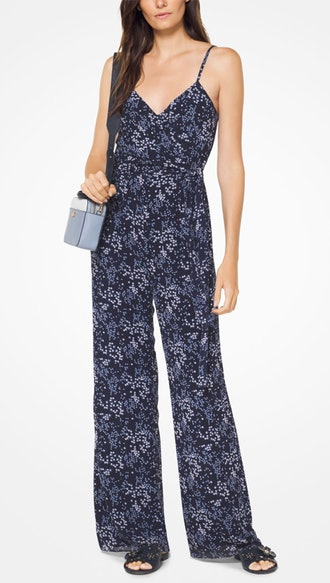 Floral Georgette Jumpsuit