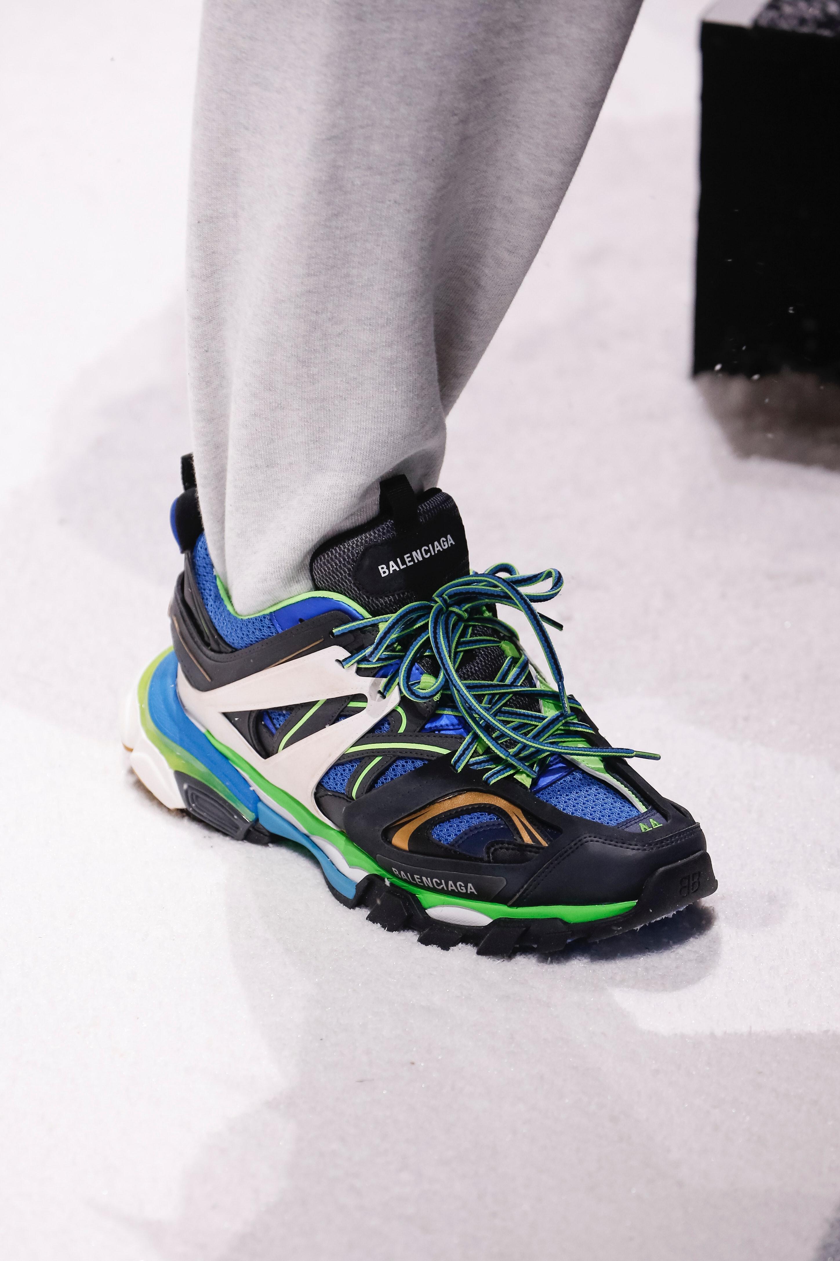 Balenciaga's New Track Sneakers Are