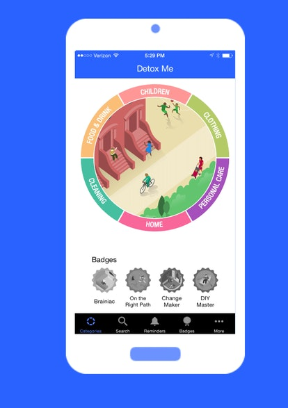 Detox Me is an app that can help you understand what's really in your beauty products.