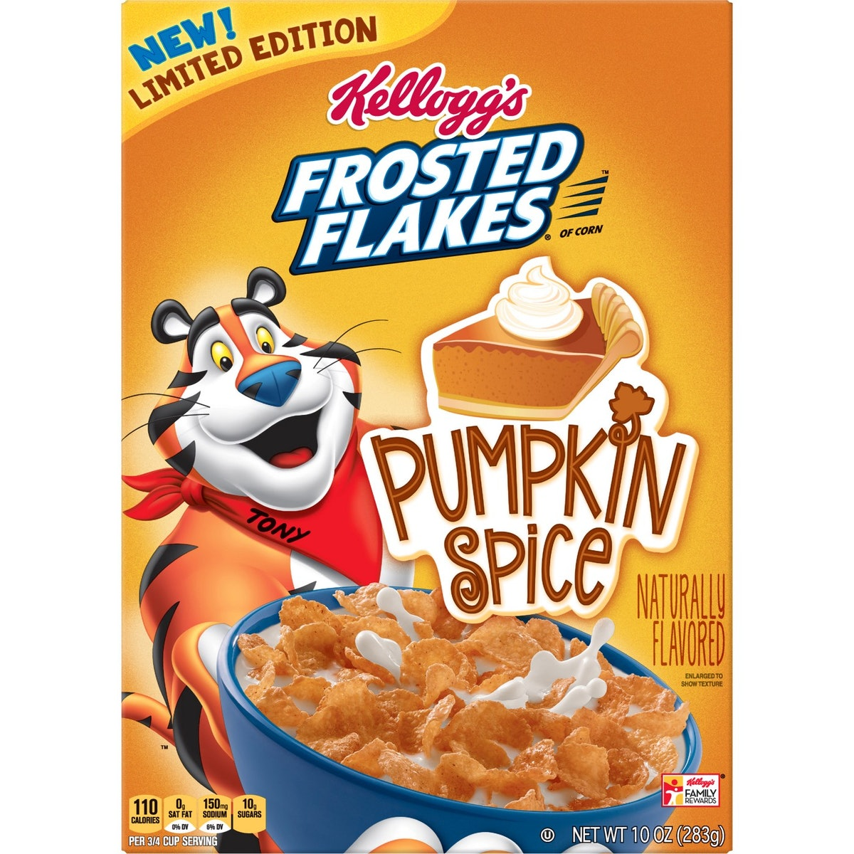 Frosted Flakes Pumpkin Spice Breakfast Cereal
