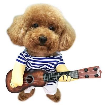 NACOCO Pet Guitar Dog Costume