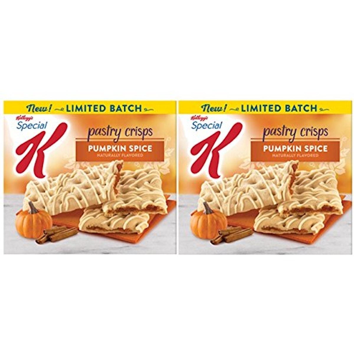 Kellogg's Special K Pumpkin Spice Pastry Crisps