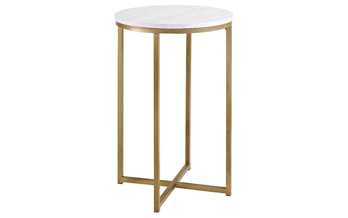 "Saracina Home 16"" Round Side Table"