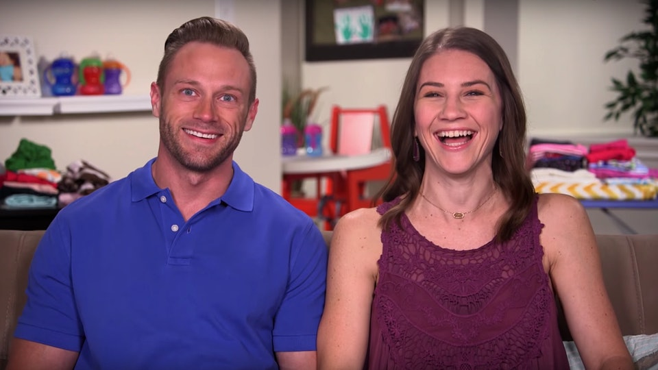 """Adam & Danielle Busby from TLC's """"OutDaughtered"""""""