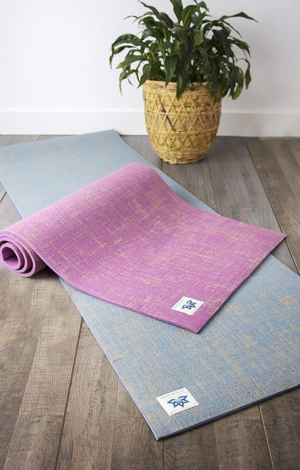 Lottus Life Natural Jute Fiber Yoga Mat