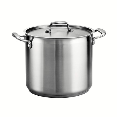 Tramontina Gourmet Stainless Steel Covered Stock Pot