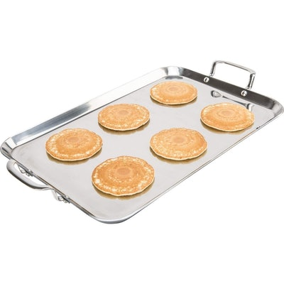 Chef's Secret Stainless Steel Double Griddle