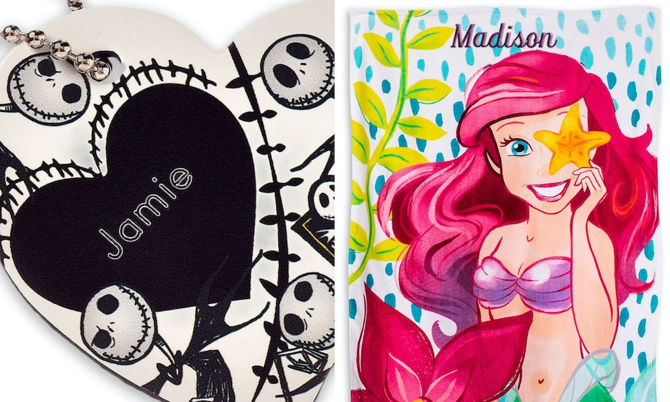 7 personalized things grown up disney fans can get from the disney store