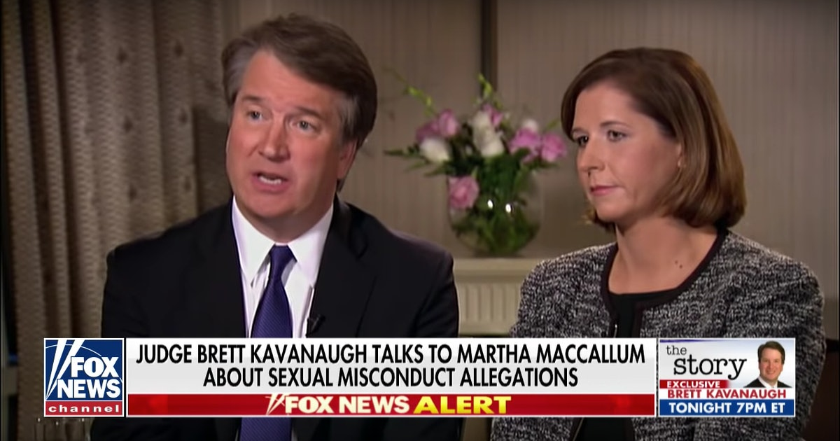 Brett Kavanaugh's Fox Interview On The Assault Allegations Got Unexpectedly Personal