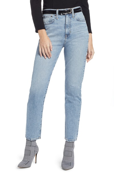 Something Navy Ankle Cigarette Jeans