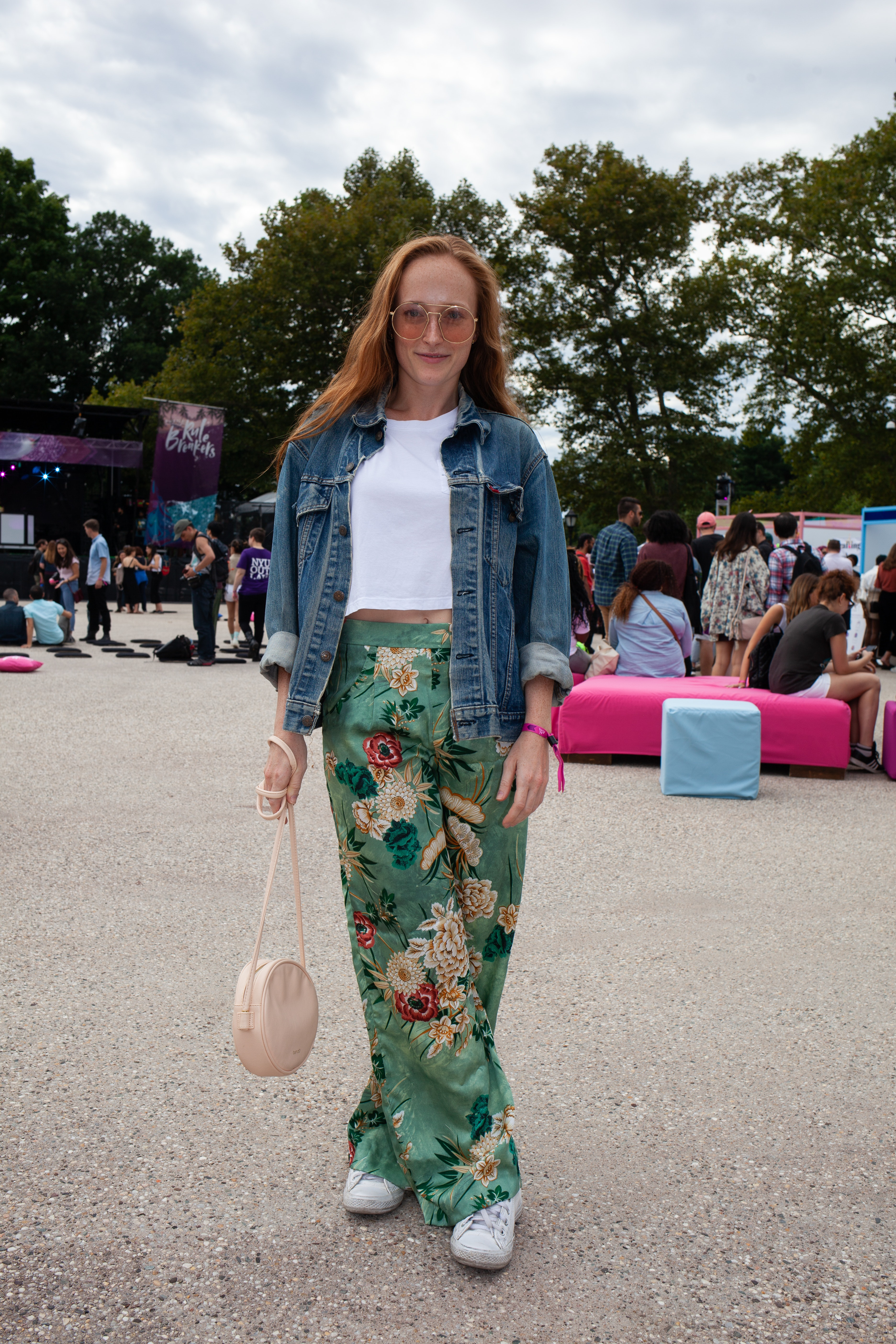 Street Style At Bustles 2018 Rule Breakers Event Was Just As Mille Shopia Top Creme Beige L Radical The Party Itself