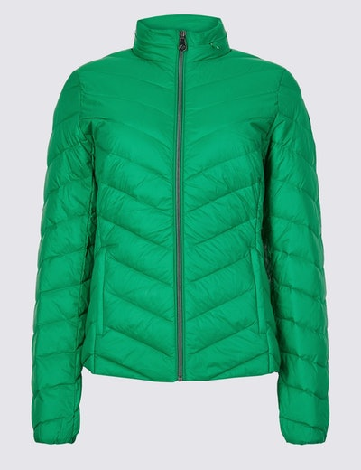 Lightweight Down & Feather Jacket
