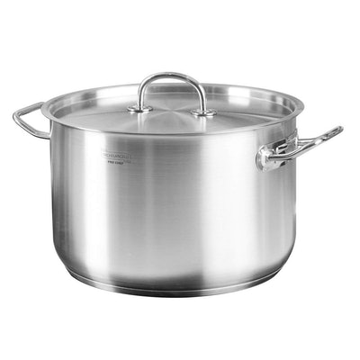 MICHELANGELO Stainless Steel Stock Pot With Lid