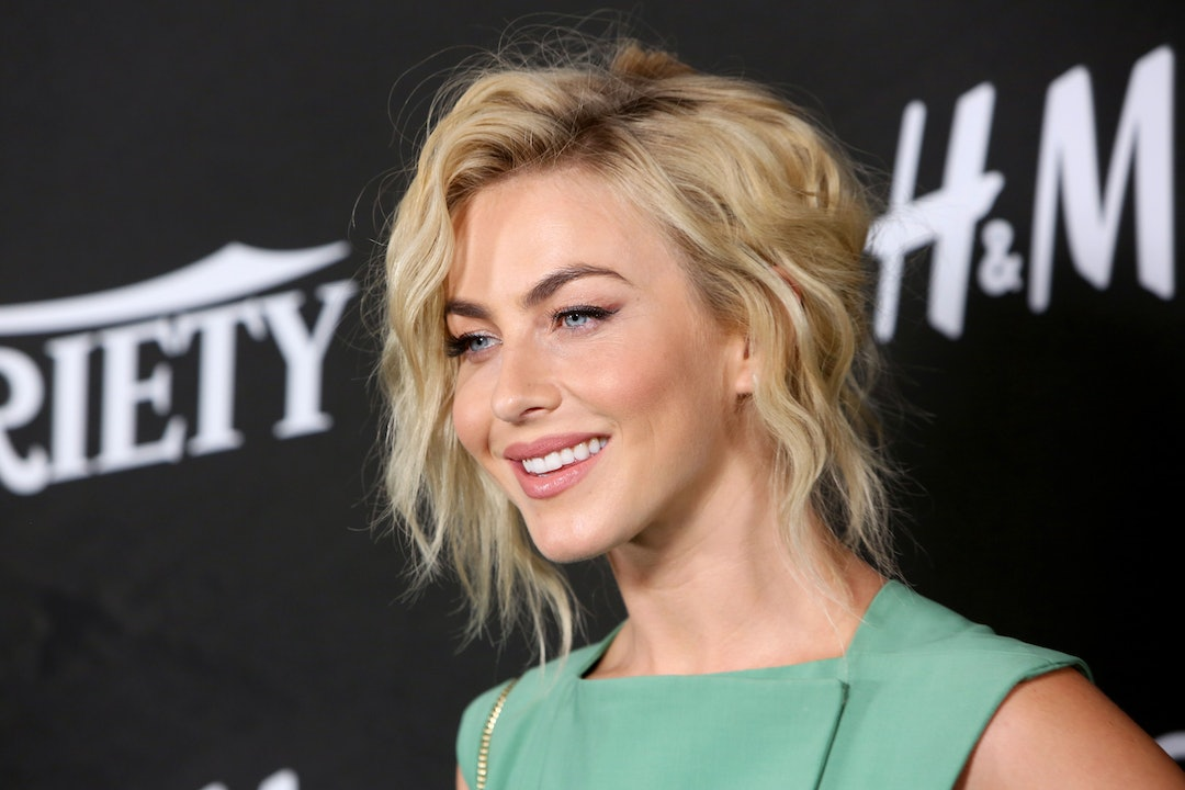 Julianne Hough S Blunt Bob Bangs Will Convince You To Get A Major
