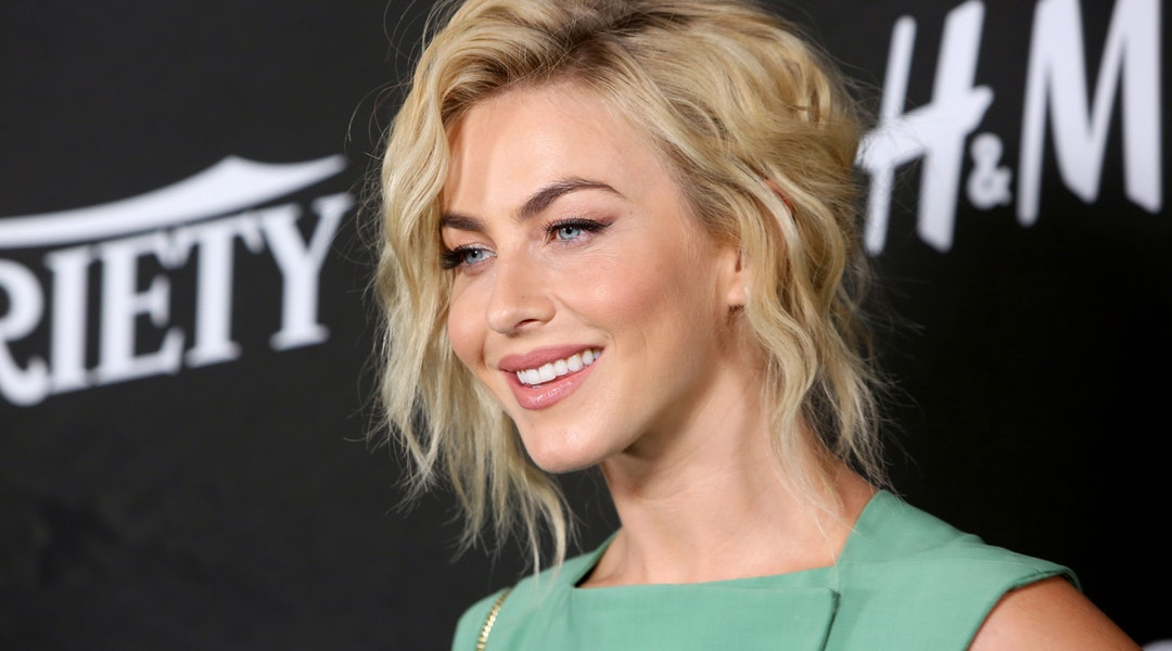 Julianne Houghs Blunt Bob Bangs Will Convince You To Get A Major