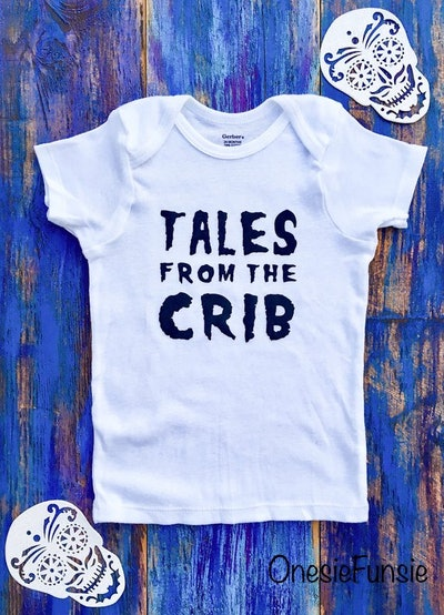 Tales From The Crib Halloween Onesie