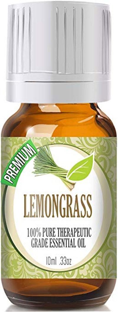 100% Pure Lemongrass Essential Oil  (0.33 Oz.)