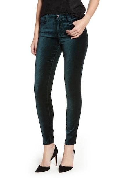 Velvet Ankle Skinny Jean
