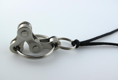Bike Chain Fidget Necklace