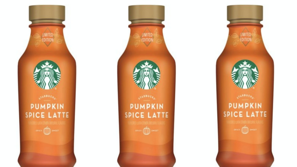 Walmarts 40 Ounce Starbucks Psl Is For True Fans Of Pumpkin Spice Only