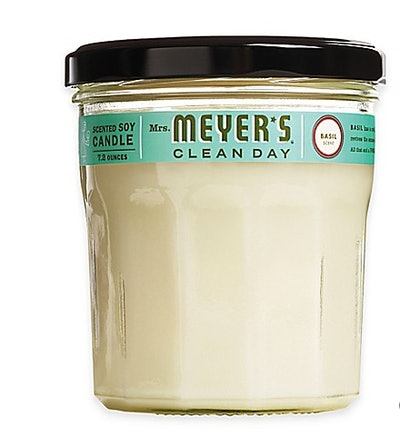 Mrs. Meyer's Clean Day Basil Candle