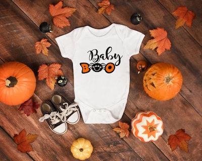 Halloween Onesie Baby Boo