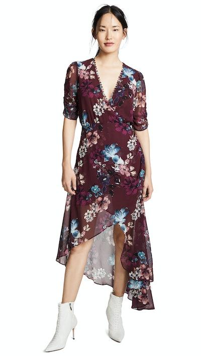 Nicholas Wrap Drape Dress