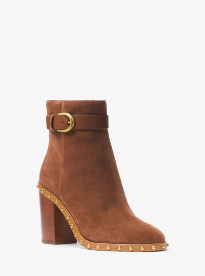 Livvy Suede Ankle Boot