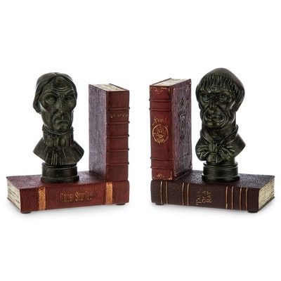 The Haunted Mansion Bookends