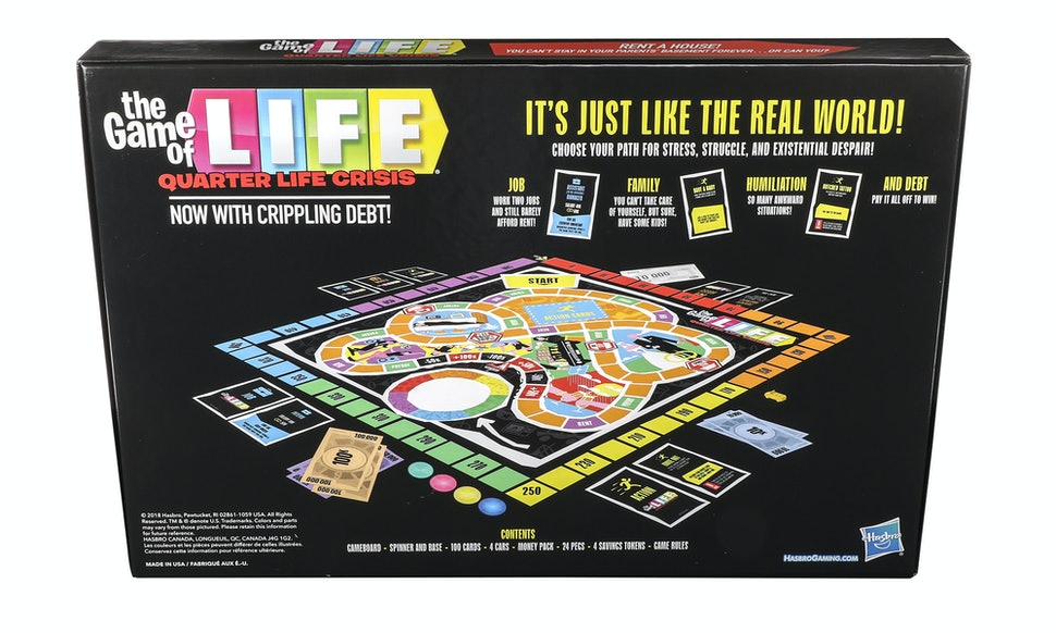 The Game Of Life Quarter Life Crisis Edition Will Speak To Your