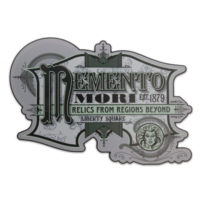Madame Leota Memento Mori Sign
