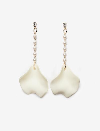 Petal Drop Earrings