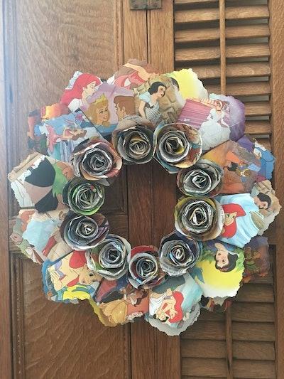Disney Princess Wreath