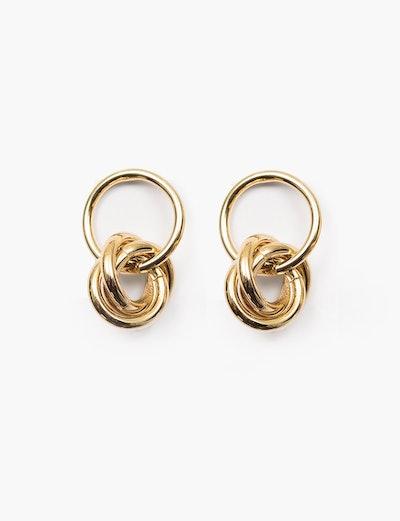 Multi-Hoop Gold Earrings
