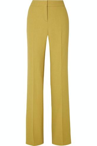 Wool-Crepe Pants