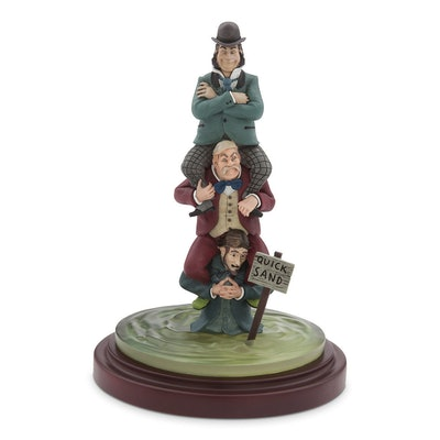 """The Haunted Mansion Quicksand """"Stretch Painting"""" Figure"""