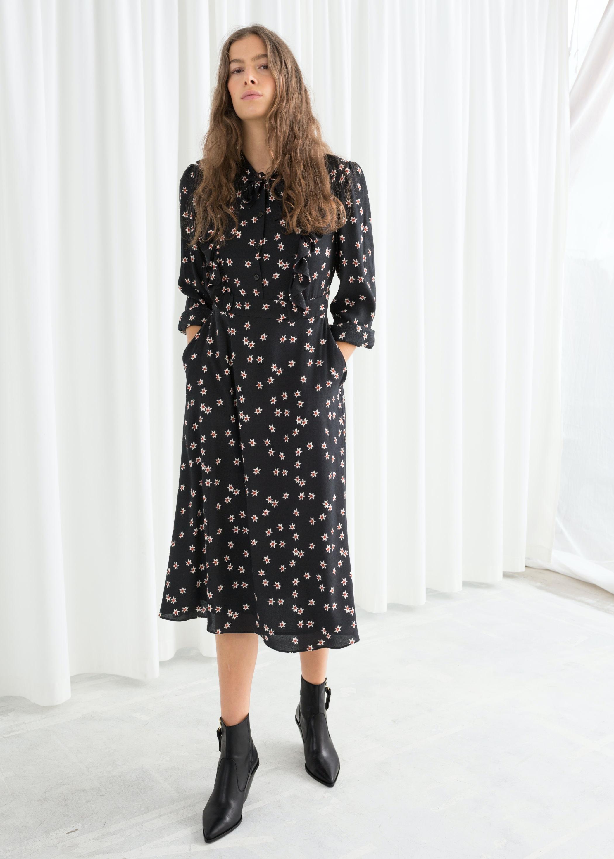 d296e203 Floral Print Midi Dress Zara | Lixnet AG