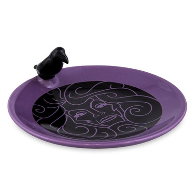 The Haunted Mansion Appetizer Plate