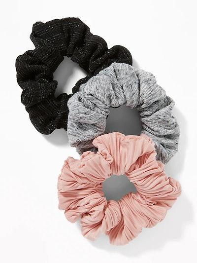 Scrunchie Hair Tie 3-Pack